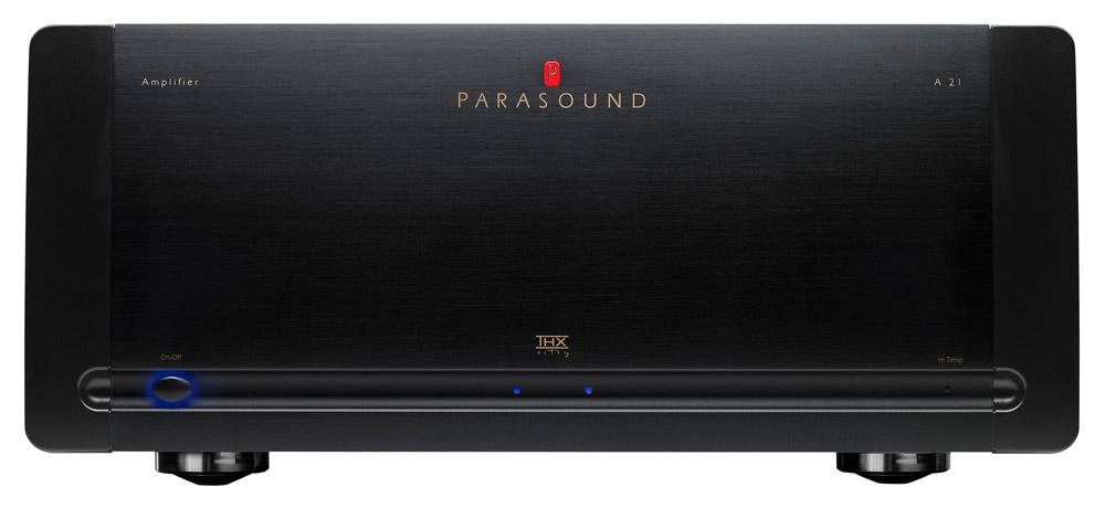 Parasound A21 Black, усилитель мощности серии Halo