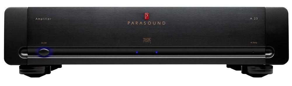 Parasound A23 black, усилитель мощности серии Halo