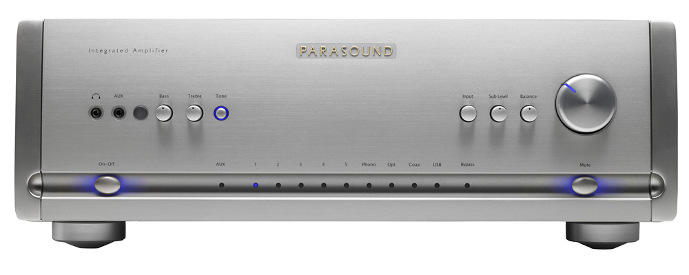 Parasound Halo HINT Silver стерео усилитель