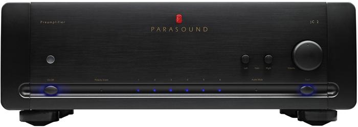 Parasound JC 2 BP Black, предварительный стерео усилитель