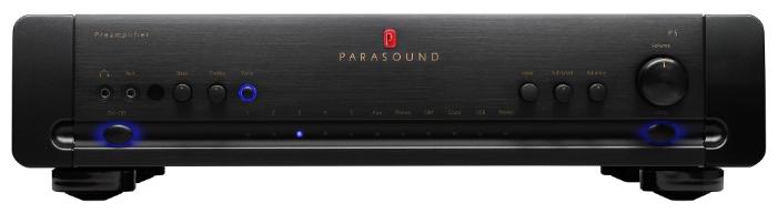 Parasound P5 Black, предварительный усилитель