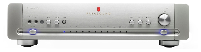 Parasound P5 Silver, предварительный усилитель