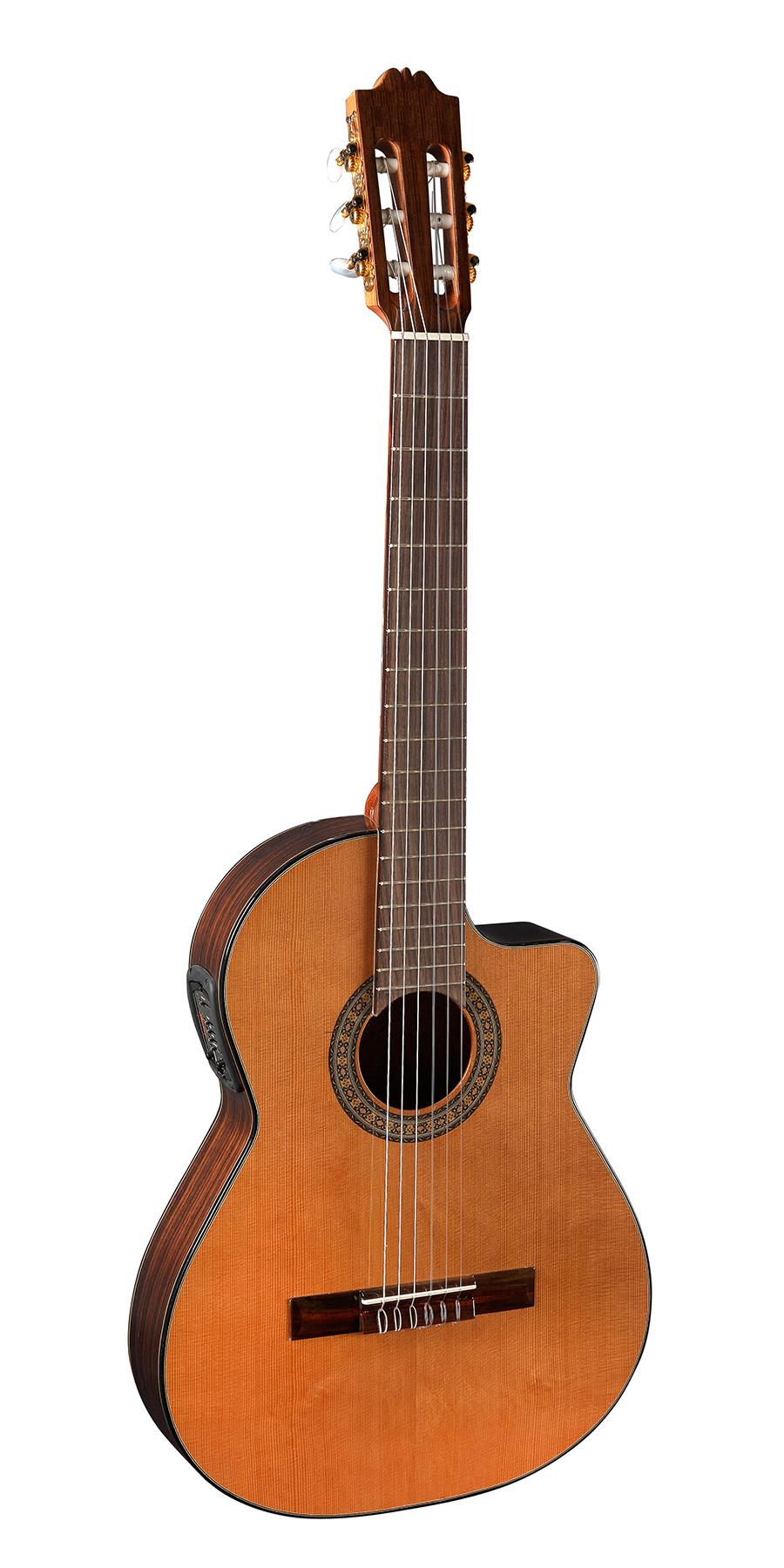Alvaro №260EC классическая гитара с вырезом