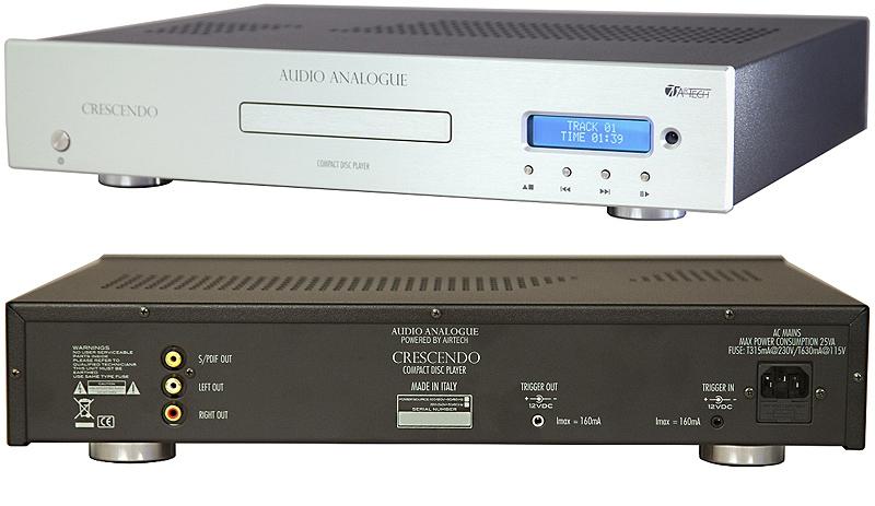 Audio Analogue Crescendo CD Player silver, CD-проигрыватель
