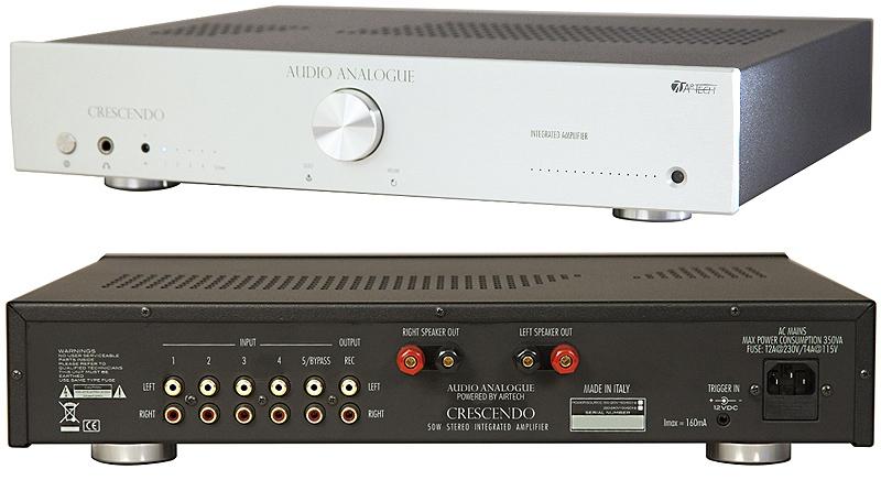 Audio Analogue Crescendo silver, интегральный усилитель