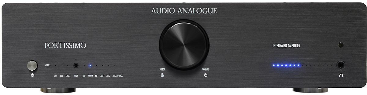 Audio Analogue Fortissimo black, интегральный усилитель