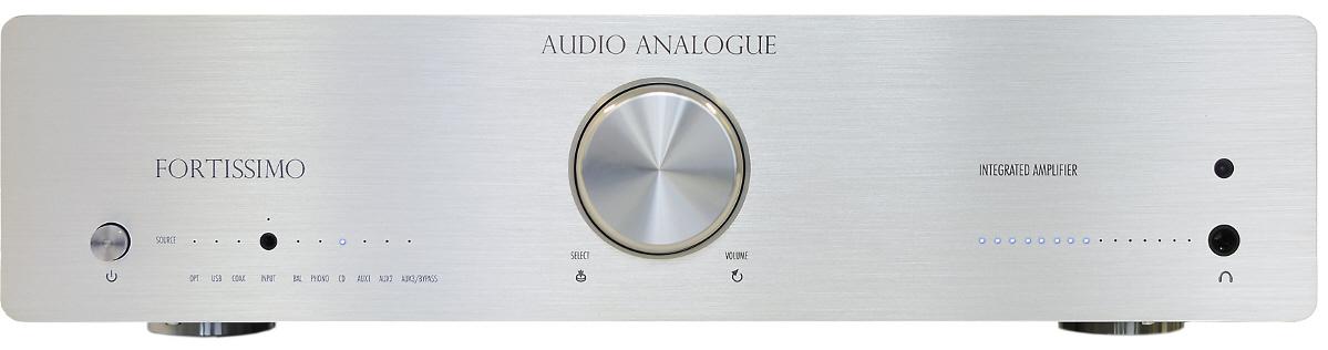 Audio Analogue Fortissimo silver, интегральный усилитель