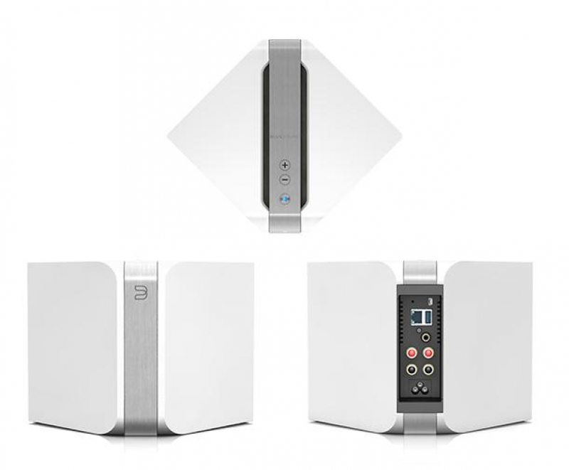 Bluesound PowerNode N150 Gloss white, беспроводная мультимедийная система