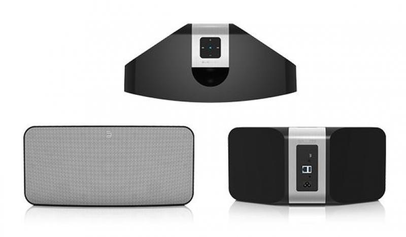 Bluesound Pulse P300 Gloss black, беспроводная мультимедийная система