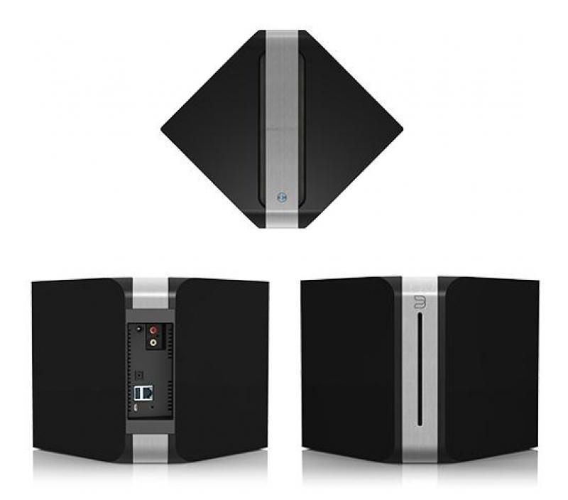 Bluesound Vault V500 Gloss black, беспроводная мультимедийная система