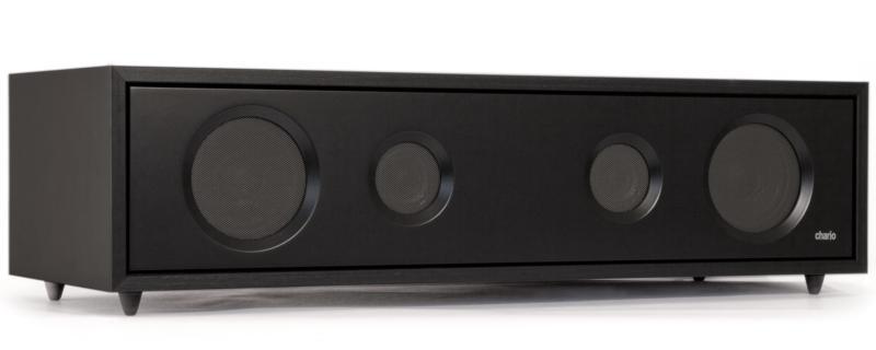 Chario DOPPIA black, акустика центрального канала