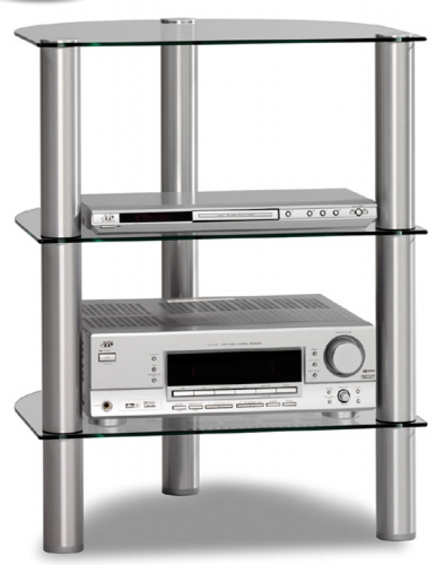 JUST RACKS R590 Al-BG, стойка под Hi-Fi аппаратуру