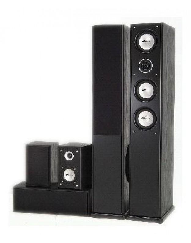 MT-Power Elegance - 2 Black Ach, комплект акустики 5.0