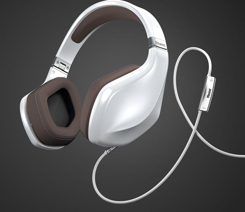 Наушники Magnat LZR 980 Pearl White