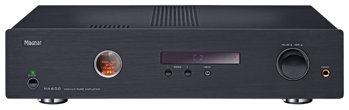 Magnat MA600 Black, интегральный усилитель гибридный