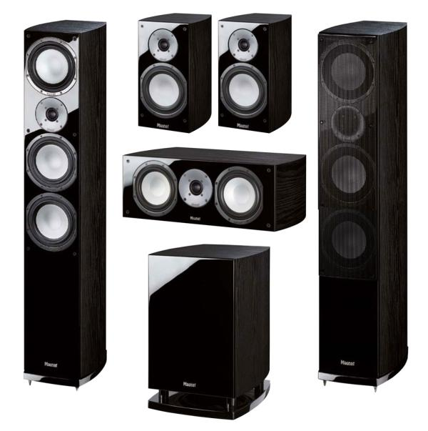 Magnat Quantum 677 Set Black, комплект акустики 5.1