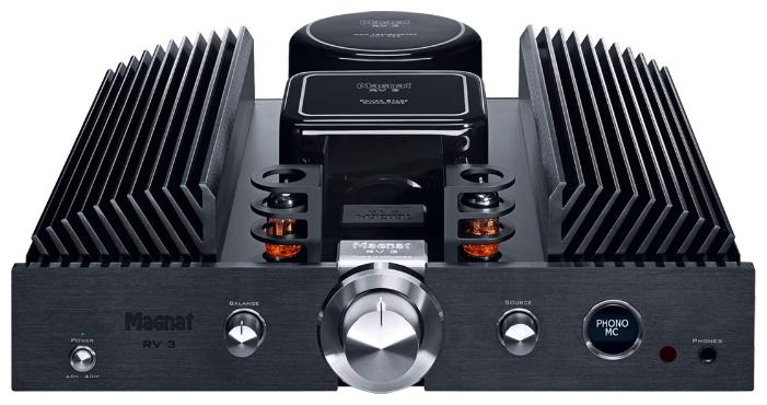 Magnat RV-3 Black, интегральный усилитель гибридный
