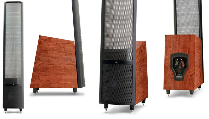 Martin Logan Theos dark cherry-black alu, напольная акустика