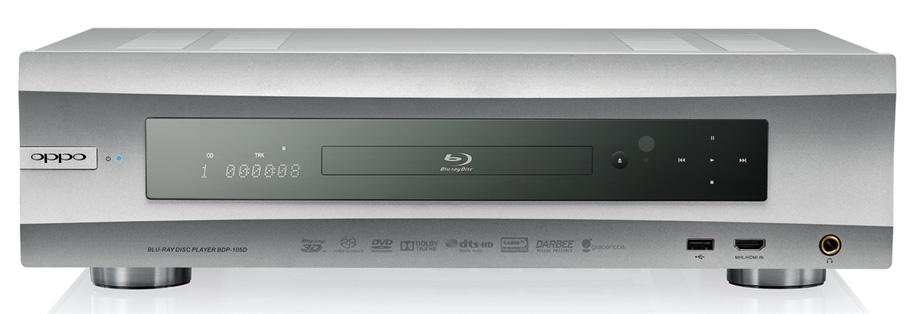 OPPO BDP-105D Silver Blu-ray-плеер