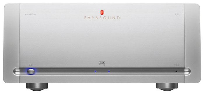 Parasound A21 Silver, усилитель мощности серии Halo