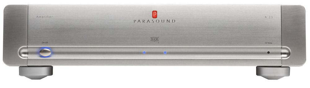 Parasound A23 Silver, усилитель мощности серии Halo