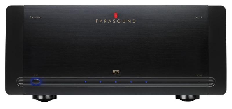 Parasound A51 Black, усилитель мощности серии Halo