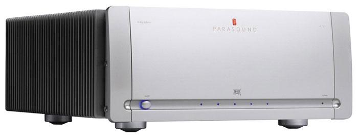 Parasound A51 Silver, усилитель мощности серии Halo