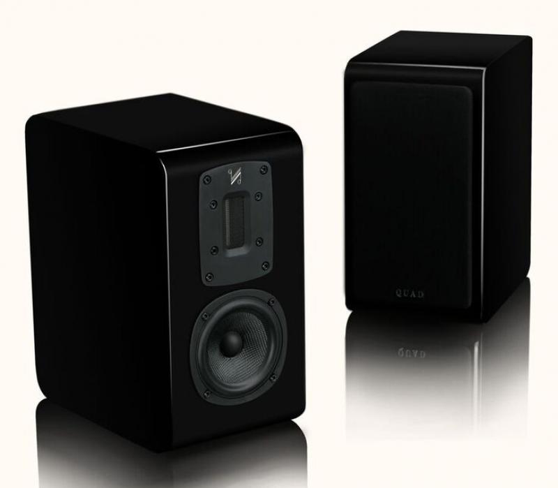 Quad S-1 Piano Black, полочная акустика