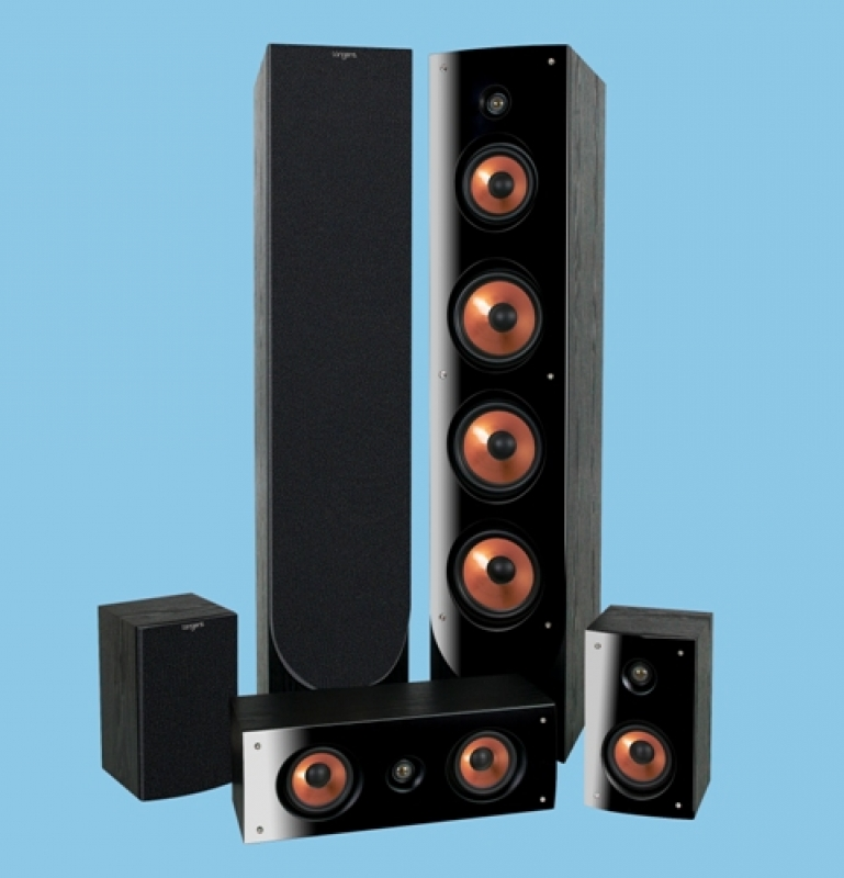 Tangent Expression 5-pack black, комплект акустики 5.0