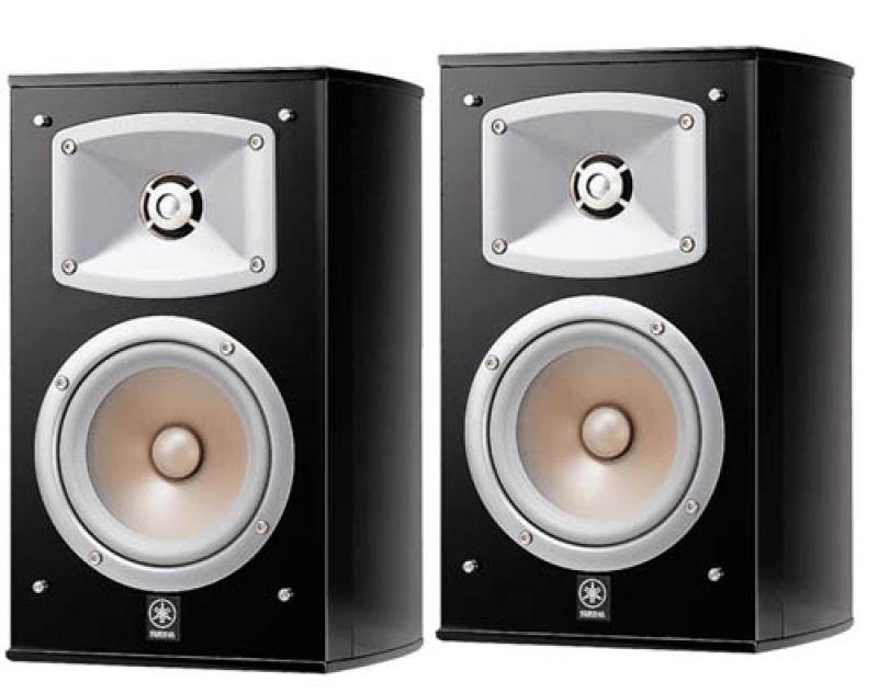Yamaha NS-333 bl Elliptical form полочная акустика
