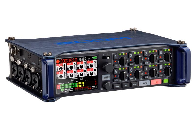 Zoom F-8 портативный рекордер-портастудия