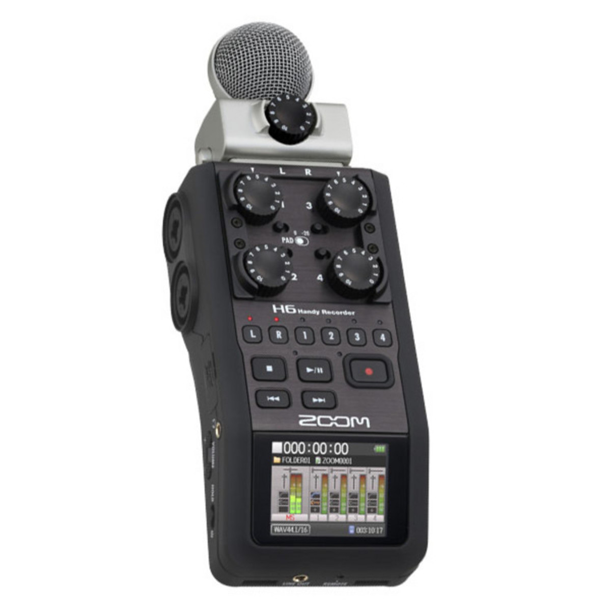 Zoom H6 ручной рекордер-портастудия